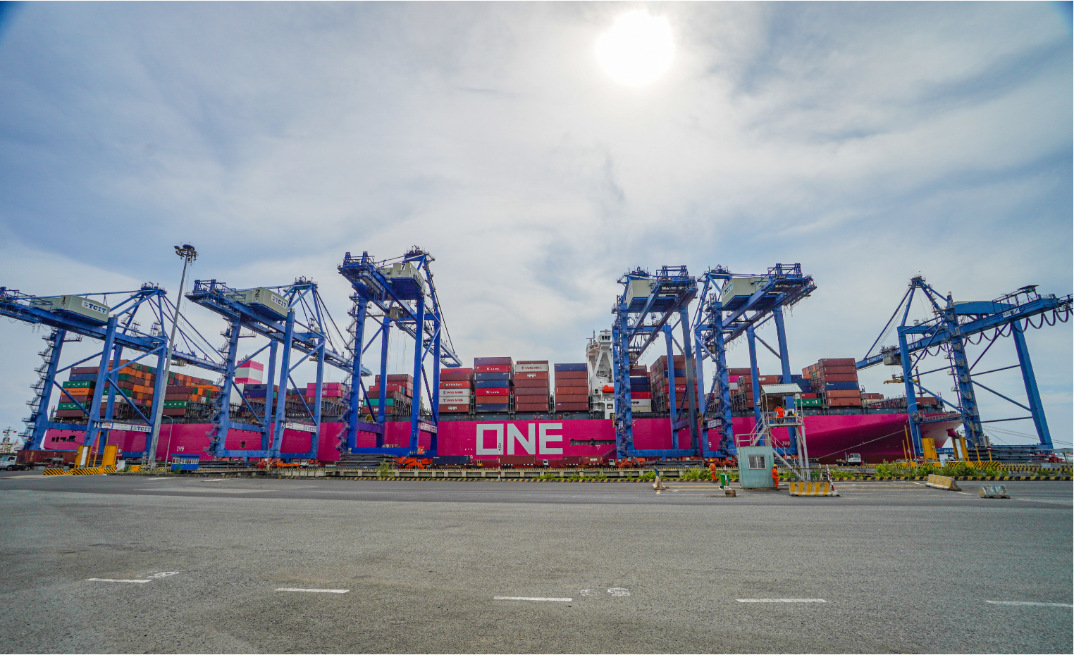 Container handling service and tally service